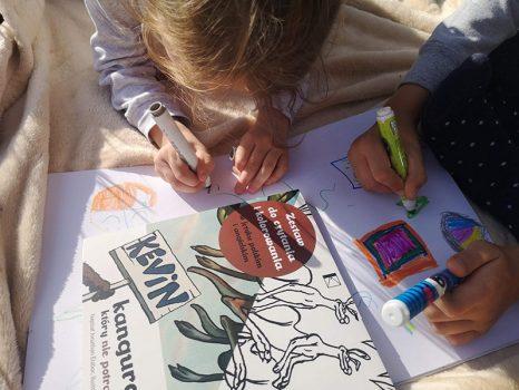 kevin-the-kangaroo-book-children-drawing