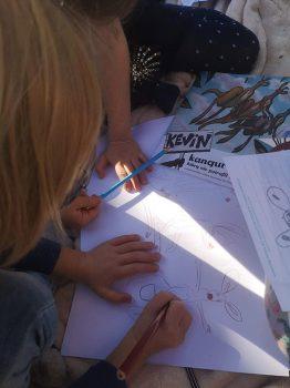 kevin-the-kangaroo-children-drawing